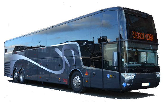 Europe 70-seater motor coach bus rental, hire with a driver