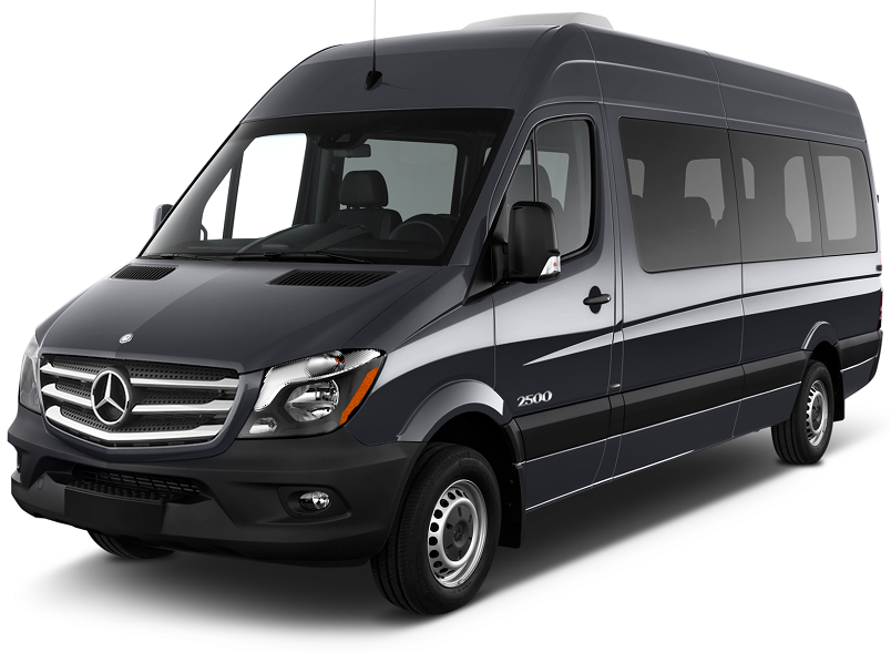 Oslo-chauffeured-minivan-minibus-rental-hire-with-driver-Mercedes-Sprinter-18-seater-passenger-people-persons-pax-in-Oslo